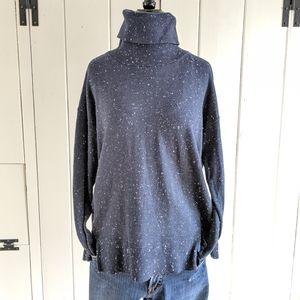 LOFT ribbed knit turtleneck sweater